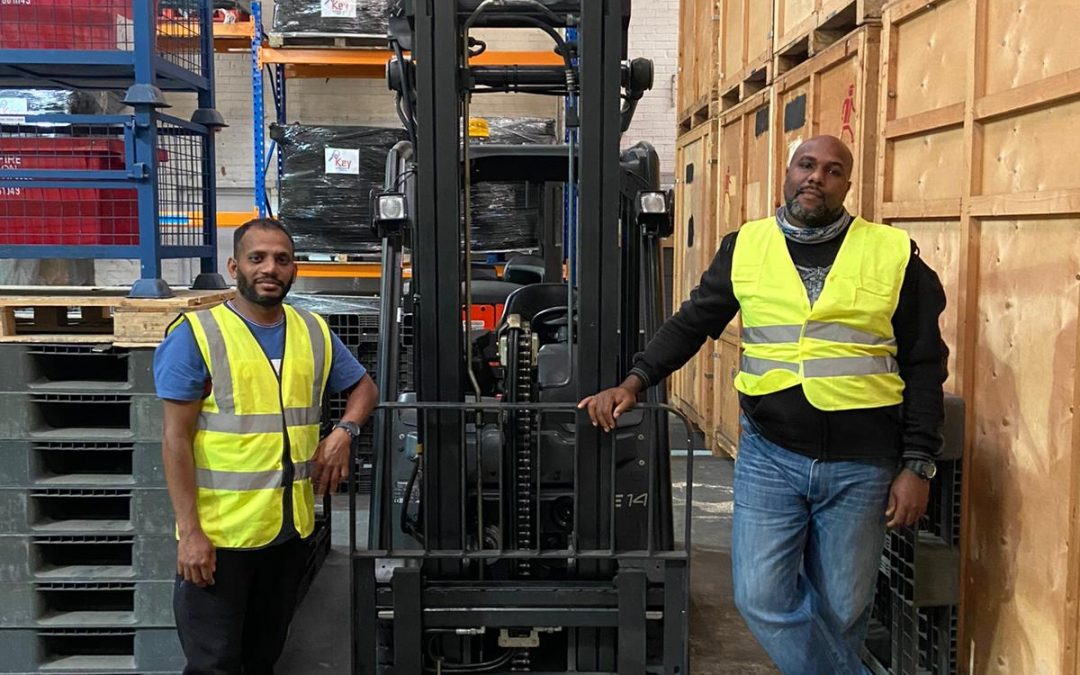 A Congratulations to our Newly Qualified Forklift Operators.